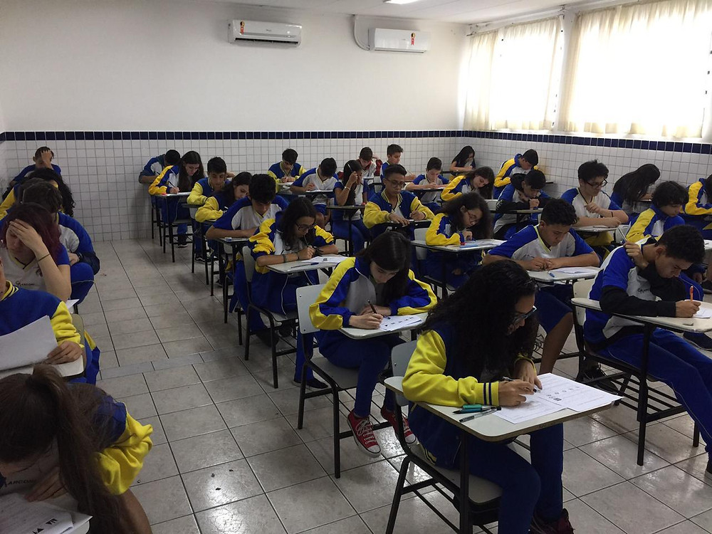 Prova Canguru no Colégio Marconi Guarulhos