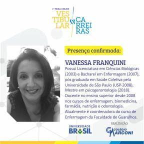Palestrante confirmada: Vanessa Franquini