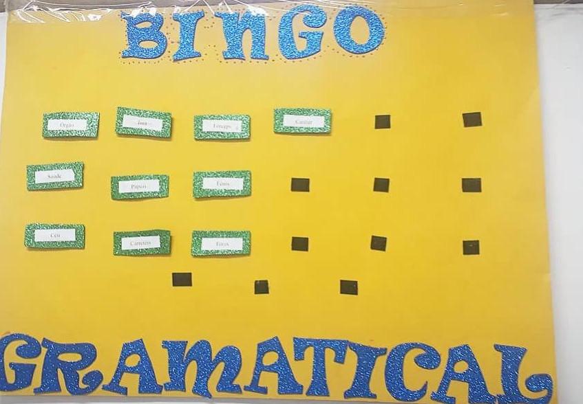Bingo Gramatical