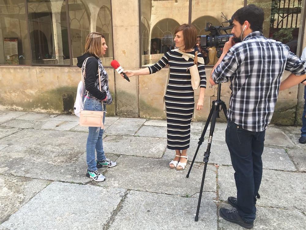 Nina Ardis em entrevista para o Programa TOP Spanã