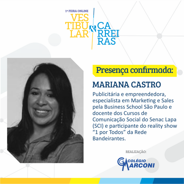 Palestrante convidada: Mariana Castro