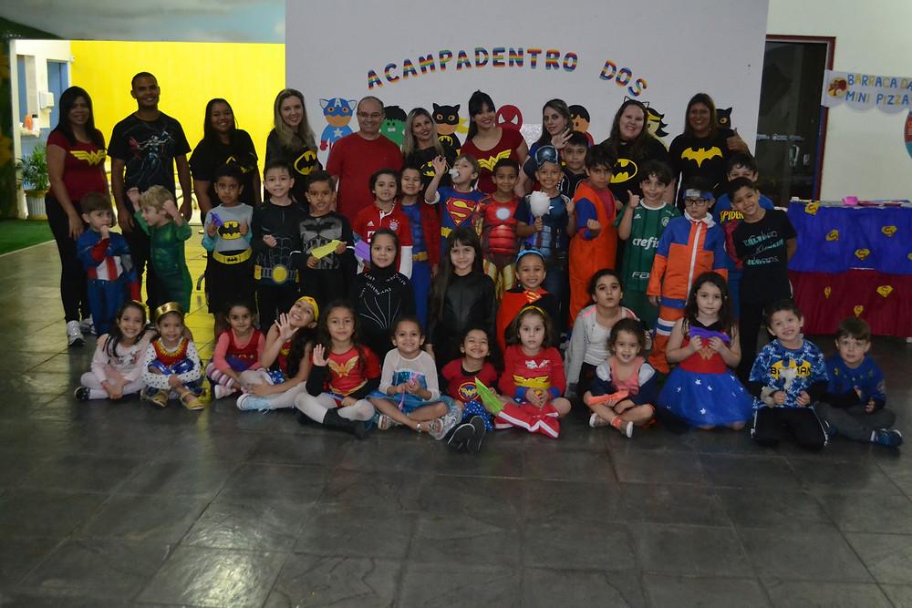Acampadentro 2018 Colégio Marconi