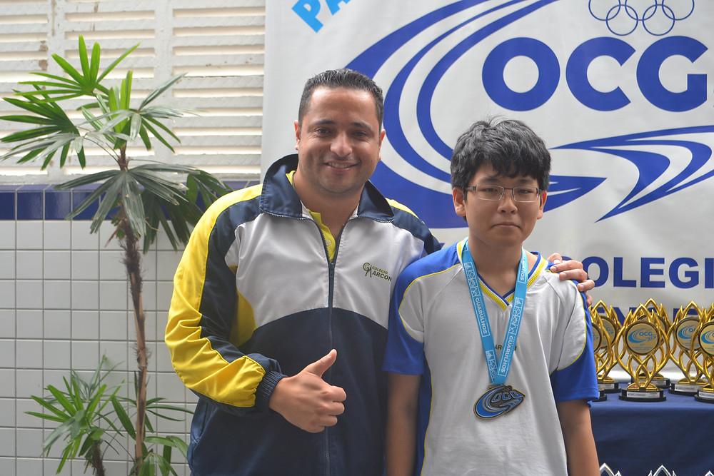 Entrega de medalhas OCG 2017 Colégio Marconi