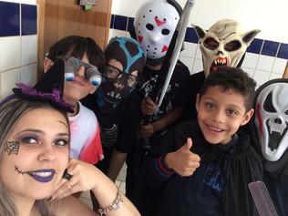 Halloween no Colégio Marconi