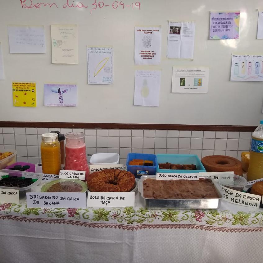 Aula sobre Alimentação Sustentável