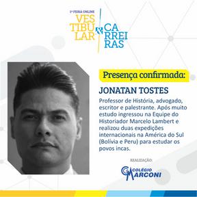 Palestrante convidado: Jonatan Tostes