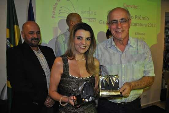 Entrega do Prêmio Guarulhos de Literatura