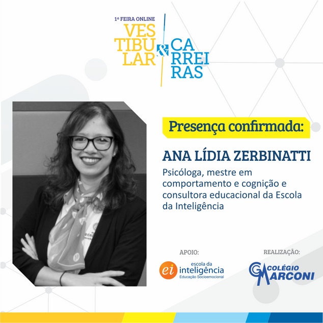 Palestrante convidada: Ana Lídia Zerbinatti