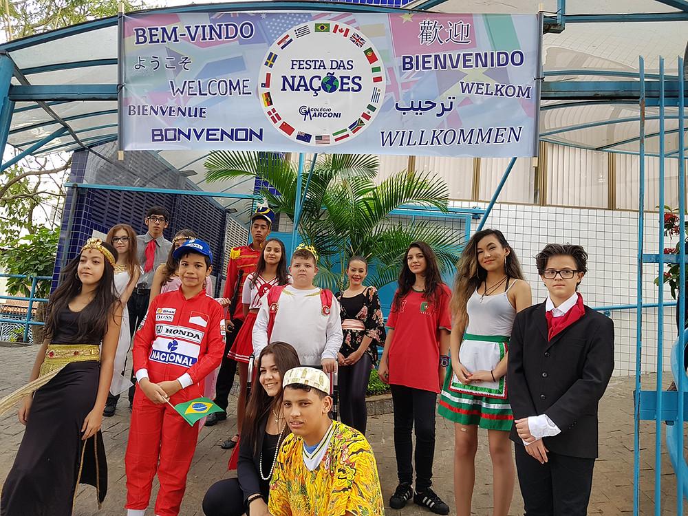 Festa das Nações Colégio Marconi Guarulhos