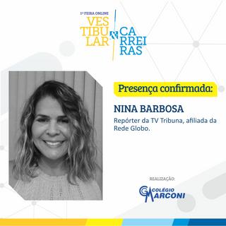 Palestrante convidada: Nina Barbosa