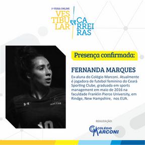 Palestrante convidado: Fernanda Marques