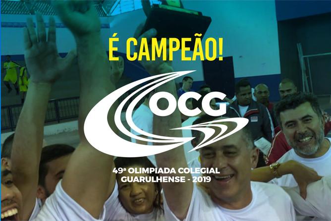 COLÉGIO MARCONI É CAMPEÃO DA OCG 2019