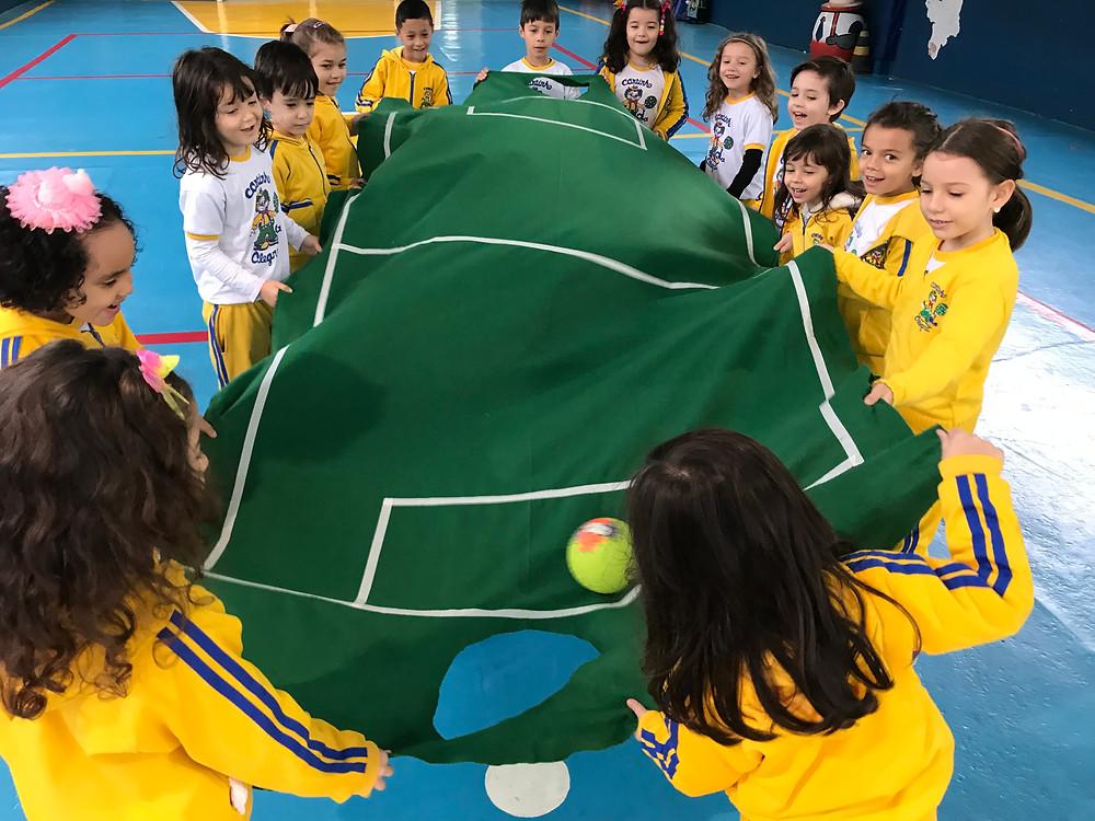 Copa da Alegria agita as crianças do Cantinho da Alegria