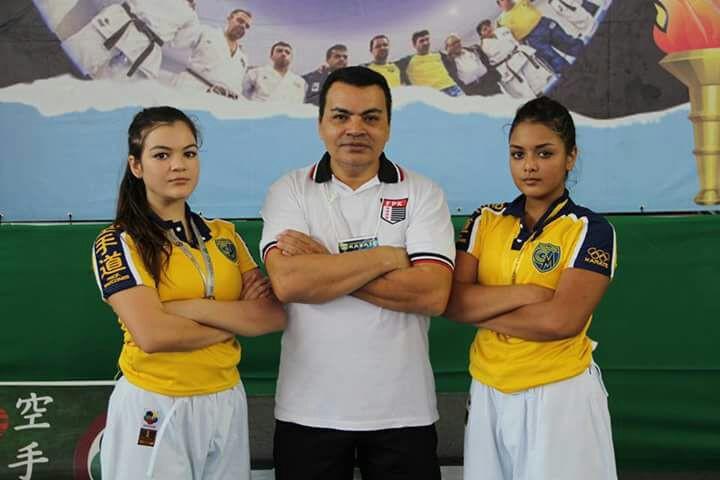 Giovanna Rabello e Rachel Finotti - integrantes da Seleção Paulista