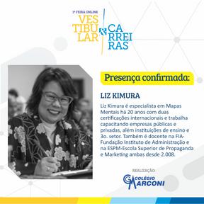 Palestra convidada: Liz Kimura