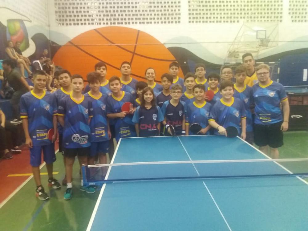 Equipe de Tênis de Mesa do Colégio Marconi