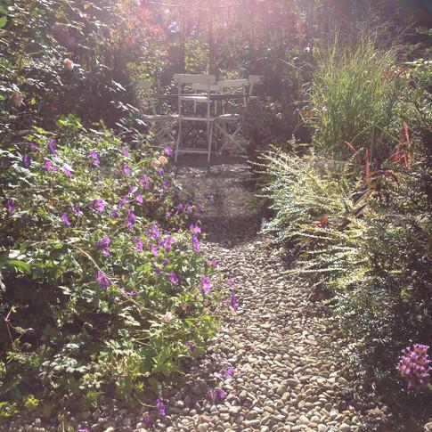 Mein Garten im Herbst