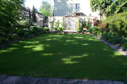 Stilvoller Stadtgarten