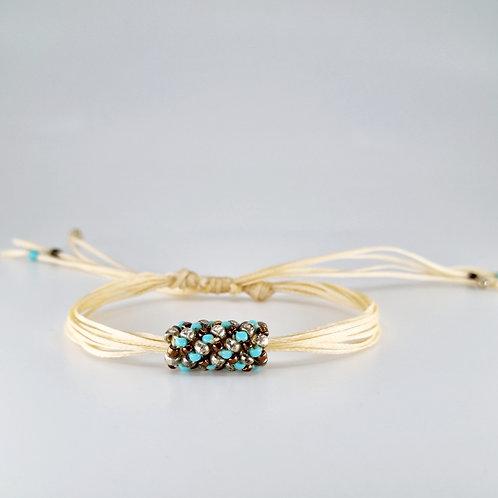 Clara bracelet in Beige