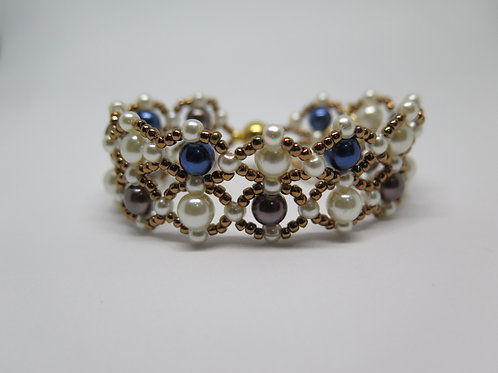 Victorian Style Beaded Luxe Band