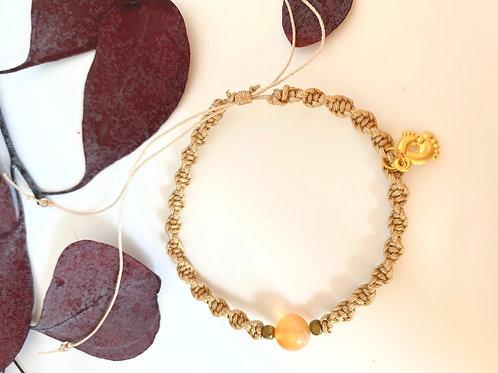 Ivory braided bracelet