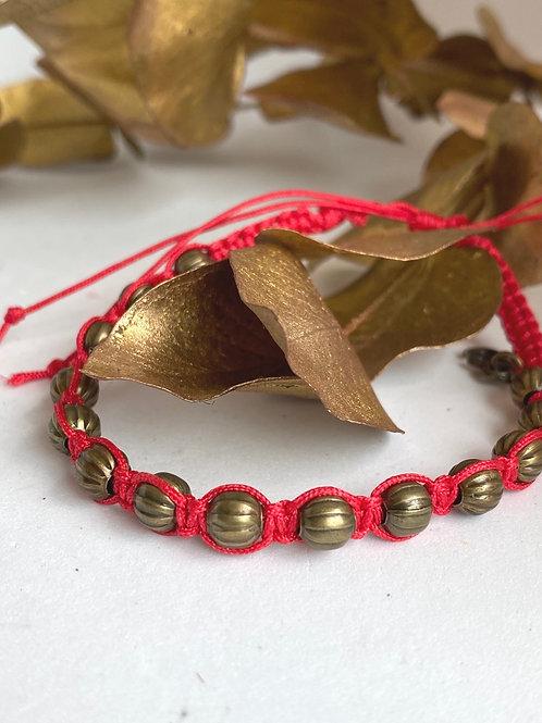 Vermillion bracelet