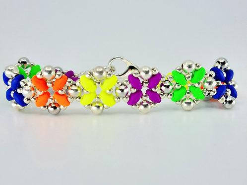 Daffodil bracelet - multicolor