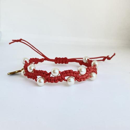 Celosia bracelet