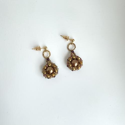 Julia earrings- Bronze