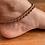 Thumbnail: Teresa anklet in Red