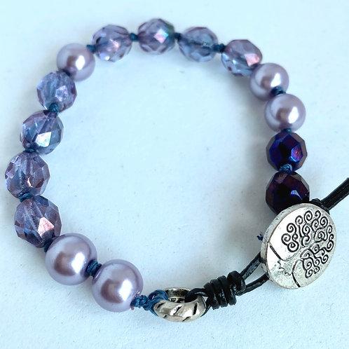 Lavender bracelet