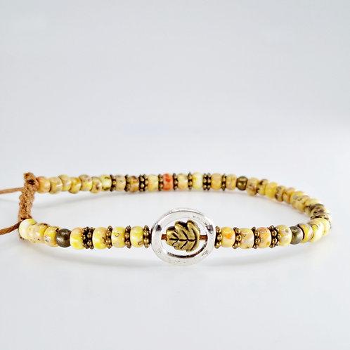 Edna bracelet in Yellow