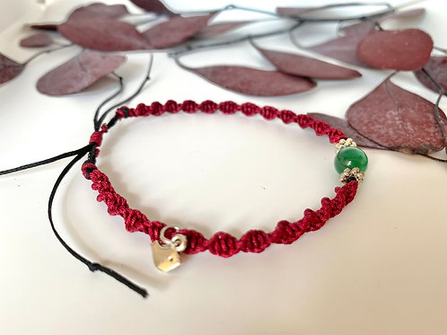 Bourbon braided bracelet