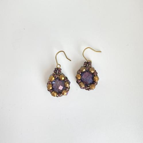 Julia earrings- Amethyst