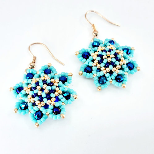 Love in Mist earrings