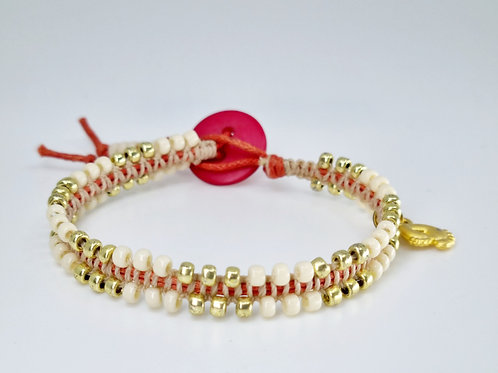 Dorothy bracelet in Beige