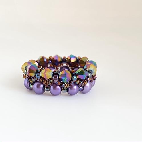 Ariel ring -Purple
