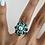 Thumbnail: Cristina ring - Teal