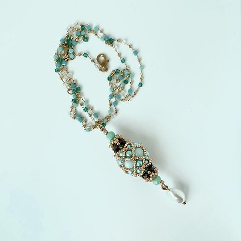 Zara pendant - Sea Green