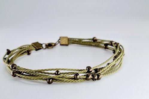 Clara bracelet in Green