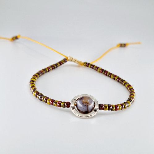 Edna bracelet in Earth
