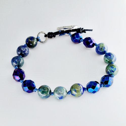 Hillary bracelet in Blue