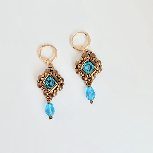 Cecilia earrings-Bronze