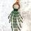 Thumbnail: Oprah necklace Antique Bronze Orange
