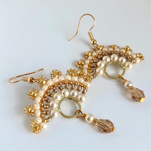 Cixi earrings - Gold