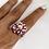 Thumbnail: Cristina ring - Pink