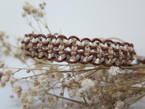 Brown Trio Bracelet
