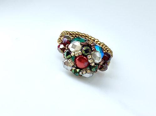 Beatrice ring - Scarlet
