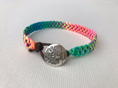 Multicolor Braided Band