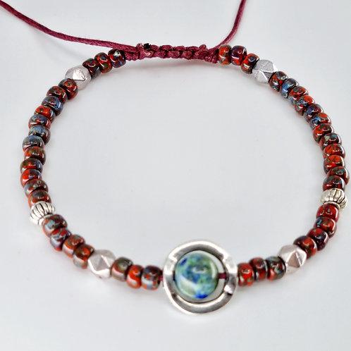 Edna bracelet in Red